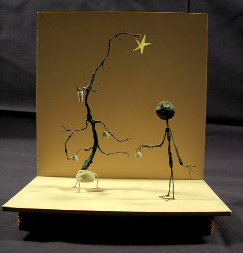 Stick Boy's Festive Season by millfieldminiature.