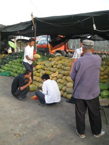 les mangeurs de melon