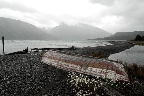 Ancient rowing boat, Last Hope Sound | Flickr - Photo Sharing!