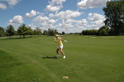 I love golf!