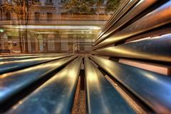 focused (Toni_V) Tags: longexposure motion blur topv111 d50 schweiz movement nikon europe zurich perspective tram zürich soe hdr 2007 bahnhofstrasse sigma1020mm photomatix 3exp toniv 5for2 shieldofexcellence 090107 ©toniv
