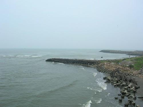 台南遊-四草大橋看海