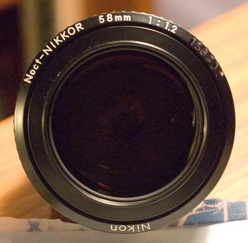 58mm-noct-nikkor F1.2