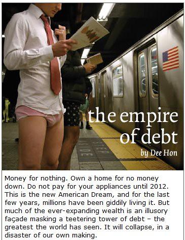 depression wallstreet adbusters americandream recession bankruptcy adbustersmagazine economiccollapse deehon