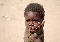 Namibia (Michele Sartori) Tags: people child himba