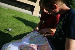 looking at our map