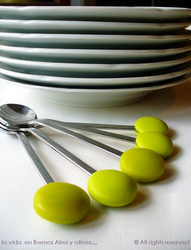 Plates and spoons
