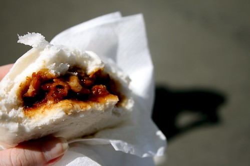 Roast Port steamed bun.