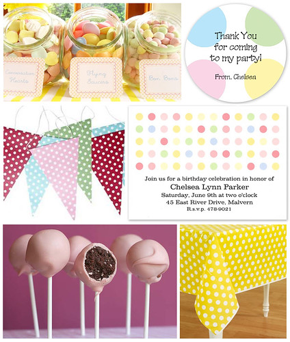 Pretty Polka Dot Party