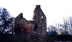 BALINSHOE CASTLE (ruins of), near Kirriemuir.