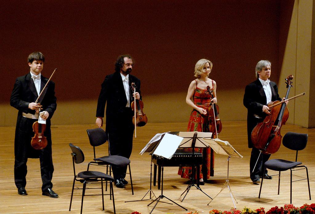 Hagen Quartet na Prazském jaru /20.5.2004/
