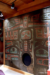 Haida House - Room Divider/Partition Screen - Museum of Civilization