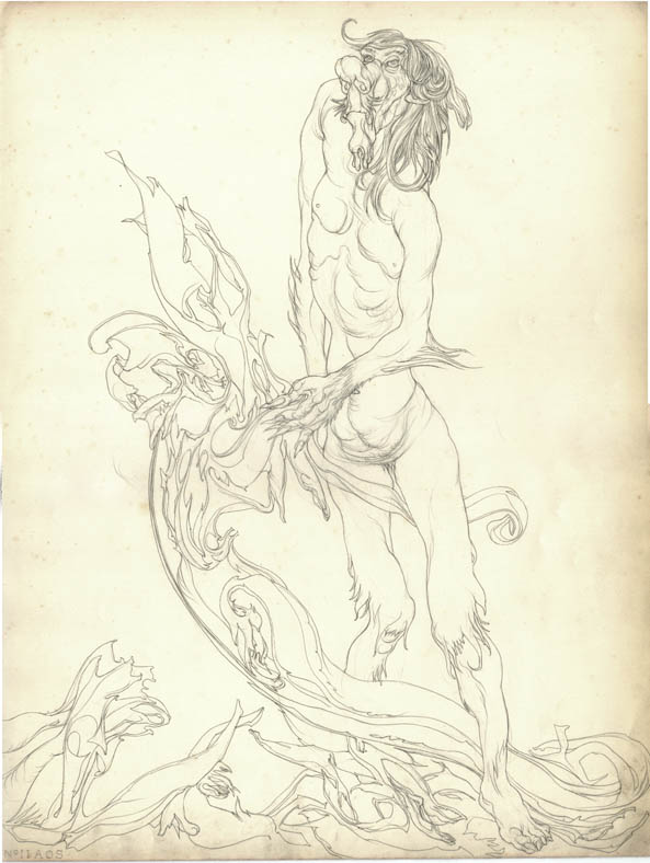 Austin Osman Spare, drawing 19
