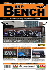A&P BENCH OCTOBER (A & P Bench) Tags: art train magazine bench for graffiti design fan maple october sale stock front 420 cover seven ap page 711 graff rast eleven railfan freight each rolling rfm chyea pasoe
