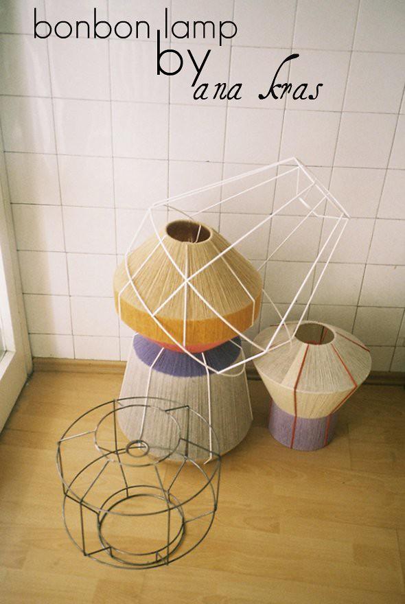 Bonbon Lamp by Ana Kras