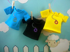 LSE 62, LSE 63, LSE 64 (Sugar Balloon) Tags: doll top shirts blythe lse tees littlesheepeep