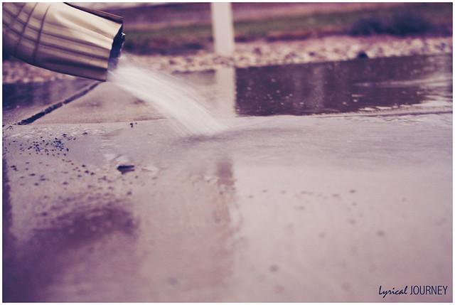 Rain - Water Spout