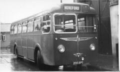WYE VALLEY MOTORS, HEREFORD (Routeman) Tags: bus coach hereford wyevalleymotors wemorgan 200bpg