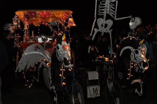 day of the dead carriage