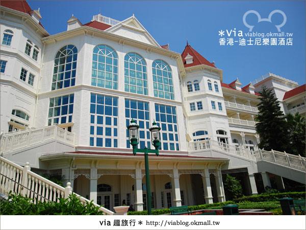 【香港住宿】跟著via玩香港(4)~迪士尼樂園酒店(外觀、房間篇)16