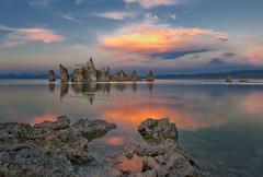 Colorful Evening at Mono Lake (Photography by Steven Frudak) Tags: california sunset nikon monolake stevenfrudak mhws