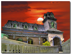 Haunted House (frankeys creation) Tags: virginia doswell hauntedhouse
