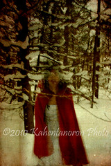 visible (MissBloo) Tags: trees winter snow texture les by digital forest woods inspired layers redridinghood brumes brookeshaden