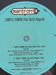 Mantronix - Simple Simon (You Gotta Regard)