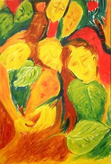 life (Shubnum Gill) Tags: india art painting women asia delhi canvas oil gill newdelhi shubnum shubnumgill wwwshubnumgillcom