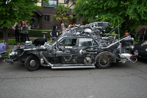 SPACE JUNK Art Car by Rot N' Hell