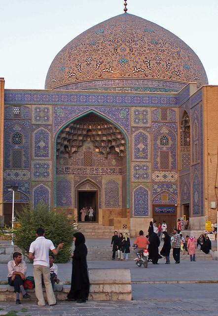 Exterior, Mesquita Xeic Lotf Allah, Isfahan