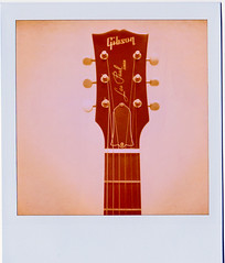 Les Paul Junior (..Stimpson) Tags: arizona nude fun polaroid weird exposure guitar jazz noflash gibson lespaul darville 779film slr680se