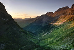 Glacier Sunset (gregpphoto) Tags: montana unitedstates glaciernationalpark nationalparks theamericanwest goingtothesunroad usnationalparks mountainsunset theoldwest glaciersunset