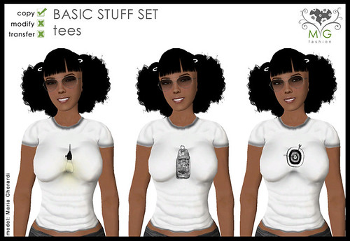 [MG fashion] Basic Stuff Set - tees