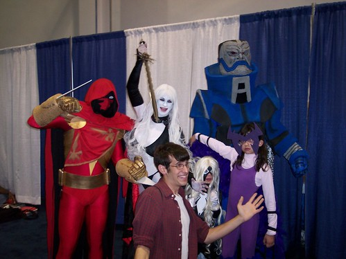 Deathbird, Lady Death, Spider-Woman, Azrael and Apocalypse at Wizard World 2007 Chicago #2 of 5