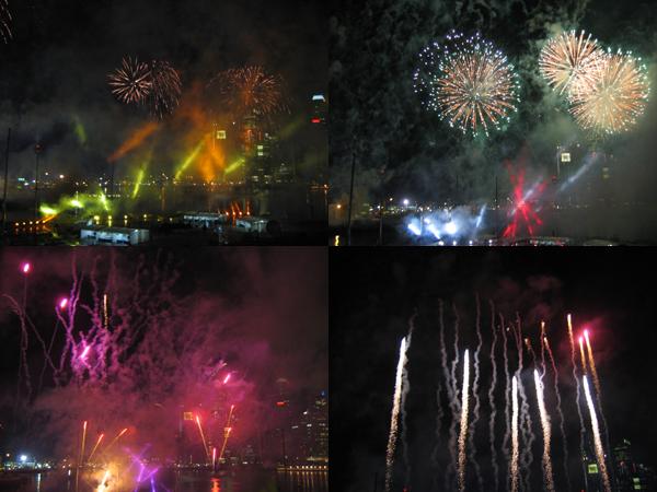 fireworks. 1
