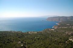 Monolithos bay (Martin Hronsk) Tags: holiday geotagged island nikon europe martin d70s greece rodos rhodes rhodos vacantion majka monolithos hronsky