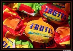 Toffees! (Paul Iddon (www.pauliddon.co.uk)) Tags: orange macro closeup greens sweets yellows reds toffees riotofcolours colourartaward themacrogroup