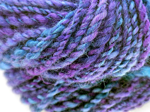 Hand-spun: Midnight Lilac