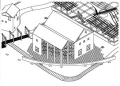 escuela de restauracion-sector confiteria-Lago Victoria Ocampo