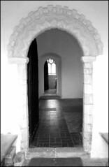 Norman doorway (Simon_K) Tags: church norfolk churches eastanglia hassingham norfolkchurches 070908 bikerideday2007 wwwnorfolkchurchescouk