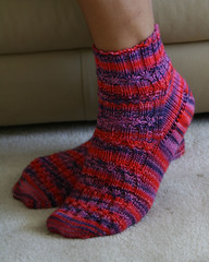 elegant ribbed socks3