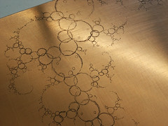 Fractal printing plate
