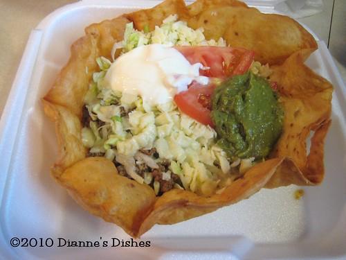 Castillos: Beef Taco Salad