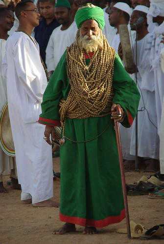 Prayer leader at Sufi Dancing in Khartoum