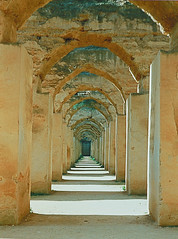 Sultans Stables in Meknes, Morocco (gordeau) Tags: horse arches morocco gordon sultan stable meknes ashby moulayismail 17thc flickrchallengegroup flickrchallengewinner thechallengefactory gordeau