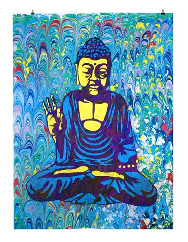 Ebru Buddha