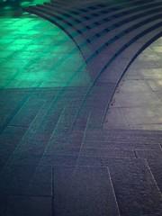 Directions. (Sascha Unger) Tags: street light shadow urban berlin art museum stairs germany licht memorial angle centre perspective center treppe stadt sascha mitte schatten tiergarten perspektive multiexposure iphone ehrenmal pictureshow sascha2010 saschaunger