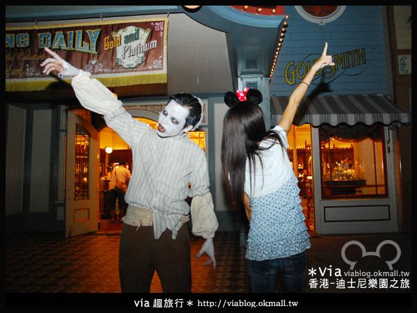【香港旅遊】跟著via玩香港(2)~迪士尼萬聖節夜間遊行超精彩!32