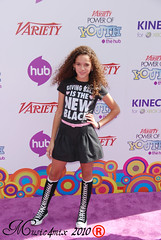 Madison Pettis (Music4mix) Tags: pictures california usa youth magazine carpet los nikon power purple angeles event madison hollywood actress celebrities variety studios arrivals paramount 2010 pettis d80 music4mix
